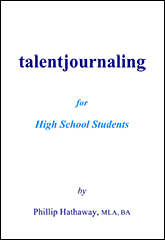 Talent Journaling for High School Students